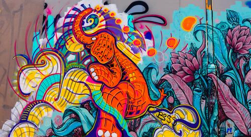 Odstránenie graffiti z betónových povrchov