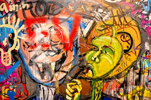 tipy čím odstrániť graffiti