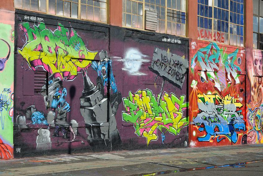odstránenie Graffiti